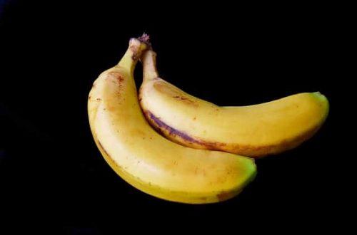 Fertilizante casero con plátano